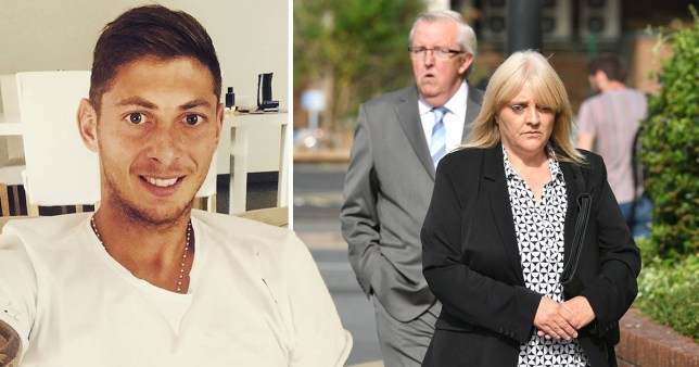 Pictured: Pair accused of leaking CCTV footage of Emiliano Sala's post mortem