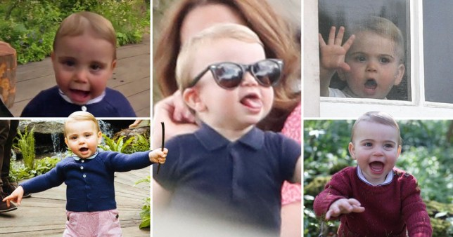 Every time Prince Louis stole the show