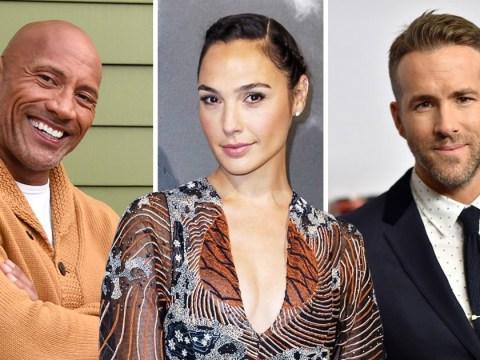 Ryan Reynolds, Dwayne Johnson and Gal Gadot will rake in huge $20million each thanks to new Netflix movie Red Notice