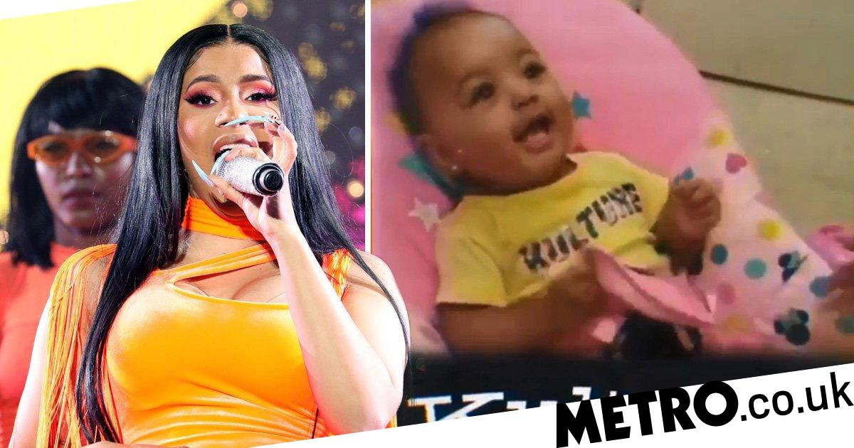 Cardi B Teases New Music Gets A Huge Back Tattoo: Cardi B Drops Snippet From New Song To Celebrate Kulture's