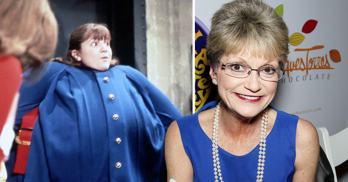 Comp of singer Denise Nickerson with her as Violet Beauregarde in Willy Wonka and a Chocolate Factory