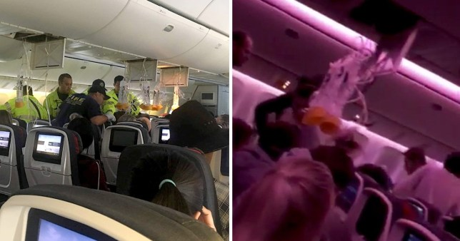 The plane had to make an emergency landing in Hawaii