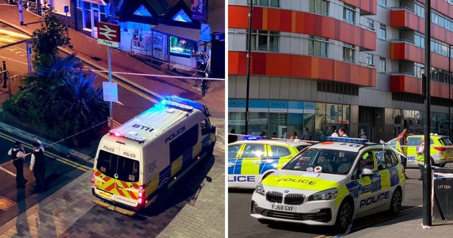 Stabbing in Croydon and stabbing in Newham