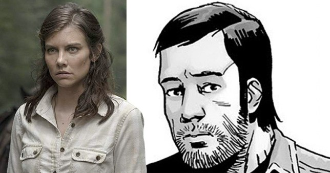 Maggie Rhee's love interest Dante in The Walking Dead