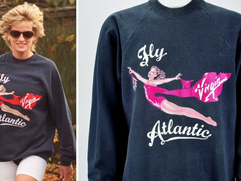 Princess Diana's unwashed gym jumper sells for more than $50,000