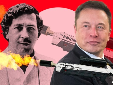Elon Musk in flamethrower war with drug baron Pablo Escobar's brother