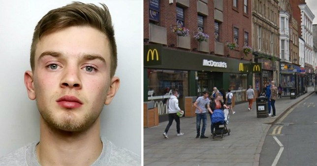 Teen admits killing stranger in one-punch attack outside McDonald's