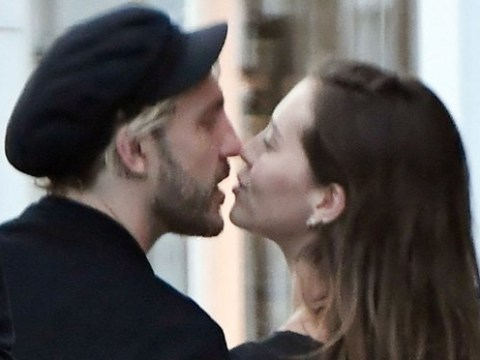Seann Walsh locks lips with girlfriend Grace Adderley as they enjoy quality time together