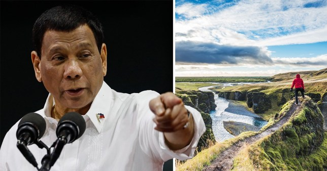 Philippine president says Iceland has no crime because they just 'eat ice'