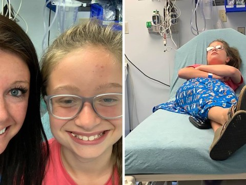 Woman says her little sister had a seizure because she curled her hair