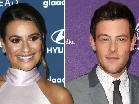 Lea Michele joins Glee cast in paying tribute to Cory Monteith six years after his death