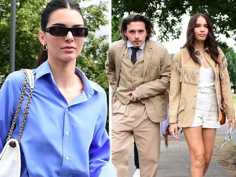 Kendall Jenner and Brooklyn Beckham lead string of A-listers at Wimbledon final 2019