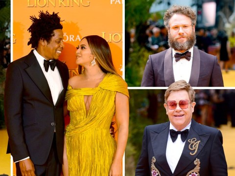 Beyonce and Jay Z are couple goals as they lead star-studded Lion King premiere