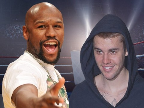 Floyd Mayweather wants in on the Justin Bieber and Tom Cruise fight