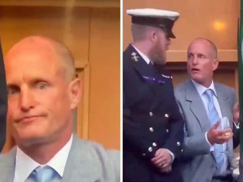 Woody Harrelson getting barred from Royal Box seat was a Wimbledon highlight but at least he had a drink to keep him company