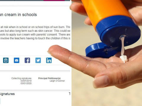 Teachers banned from putting sun cream on pupils over 'child abuse' accusation fears