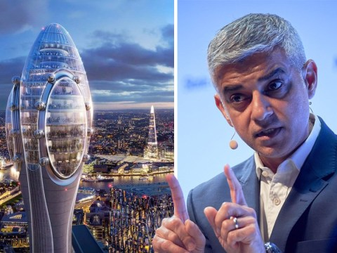Sadiq Khan throws out plans for 'giant sperm' building in City of London
