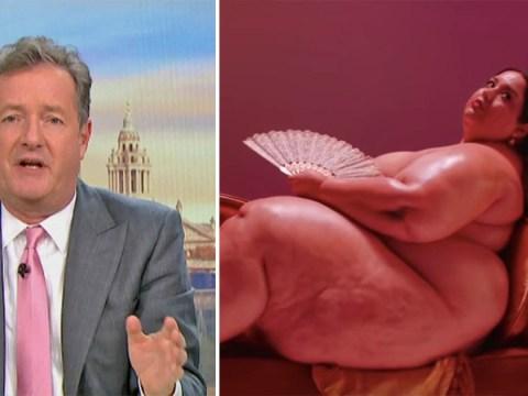 Piers Morgan branded 'fat' by Miley Cyrus video model in heated debate over obesity