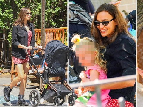 Irina Shayk embraces her inner kid on playdate with daughter Lea after split from Bradley Cooper