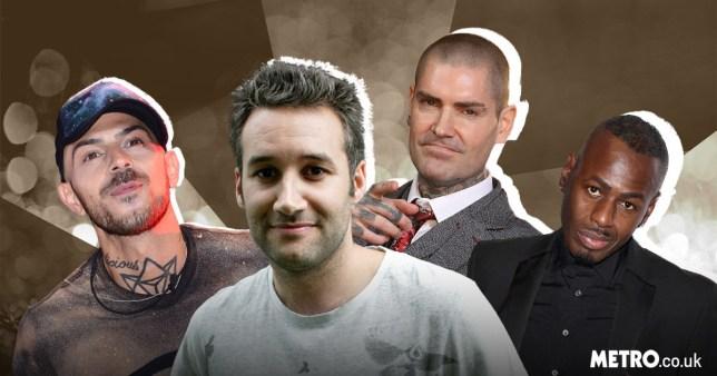Abz Love, Dane Bowers, Shane Lynch and Ben Ofoedu