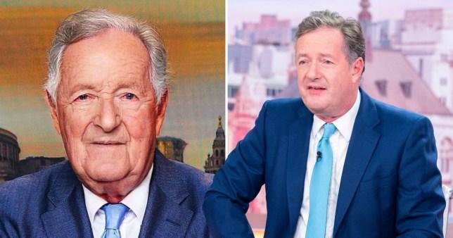 Piers Morgan ages himself