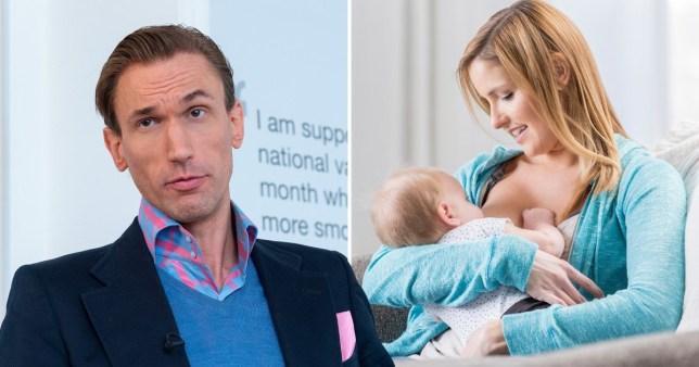 Dr Christian is pro breastfeeding ban apparently