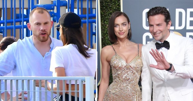 Irina Shayk shares sweet moment with friend Alec Maxwell after Bradley Cooper split
