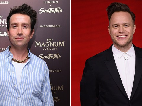 Nick Grimshaw throws shade at Olly Murs over X Factor presenting abilities