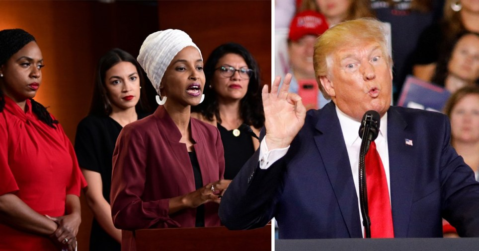 Donald Trump suggests Ilhan Omar is married to her brother