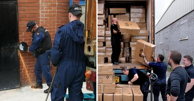 Huge haul of fake sports gear worth £4,000,000 uncovered in raid