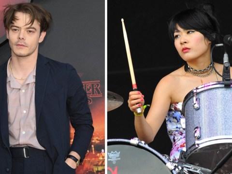 Who is Charlie Heaton's ex-girlfriend Akiko Matsuura?