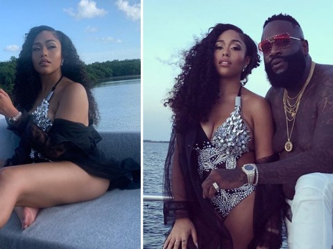 Jordyn Woods loving life as she rocks studded swimsuit in Rick Ross music video