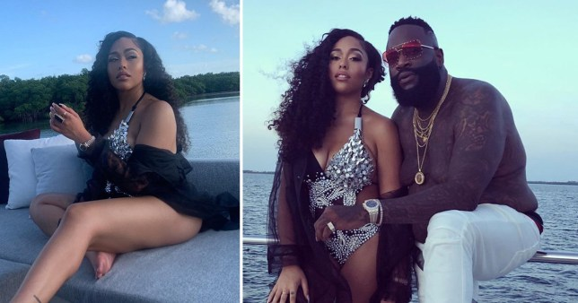 Jordyn Woods loving life as she rocks studded swimsuit in Rick Ross music video after blasting fake news