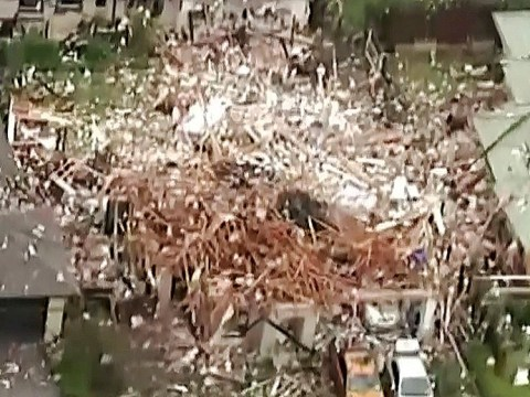 House obliterated and six hurt in gas explosion in New Zealand