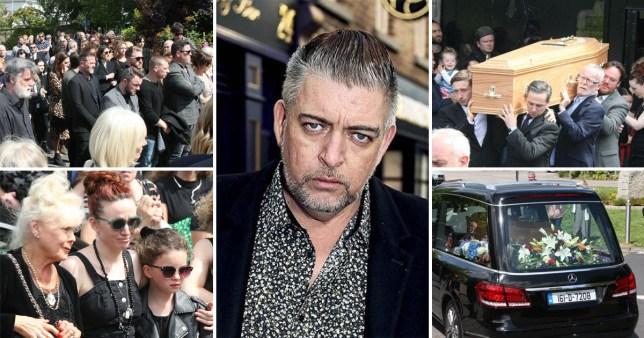 Karl Shiels funeral in Dublin