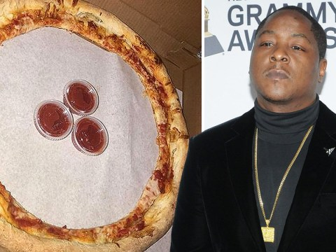 This crust-only pizza may be pure evil, but it's a rapper's favourite thing