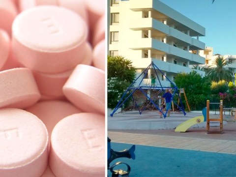 Girl, 3, who took ecstasy she found in playground left fighting for life