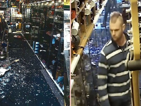 Man admits 'scaring shopkeeper to death' after drunkenly smashing up store