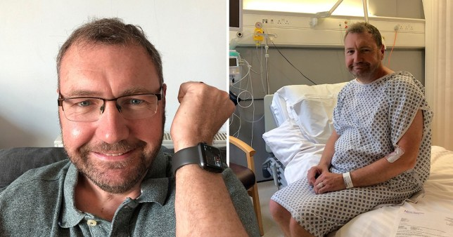 Paul Hutton credits the Apple watch with saving his life