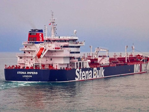 Two British oil tankers seized by Iranian Armed Forces in the Gulf