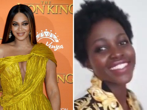 Lupita Nyong'o has cutest reaction to Beyoncé's shout-out in Brown Skin Girl