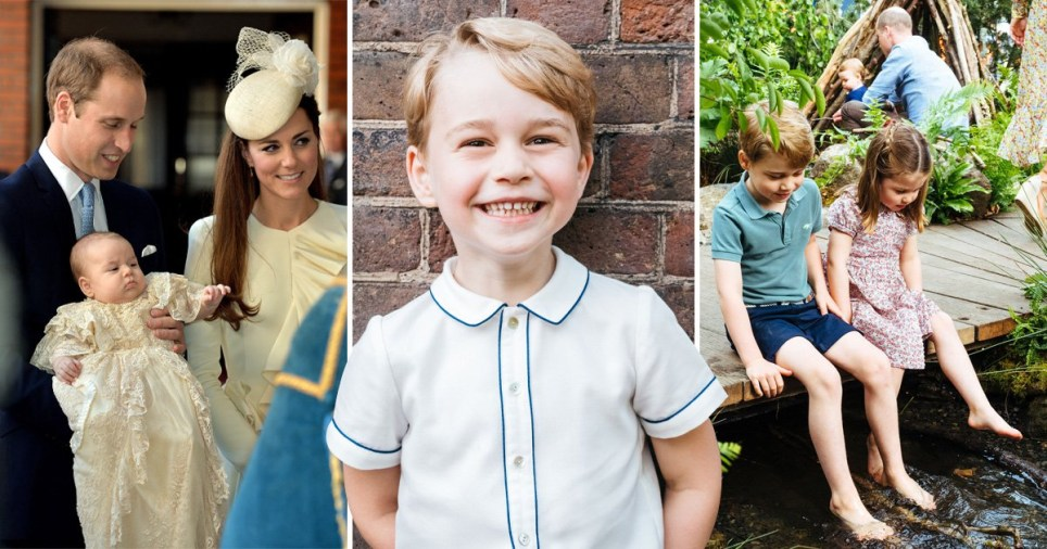 Prince George's cutest pictures as he is about to turn six
