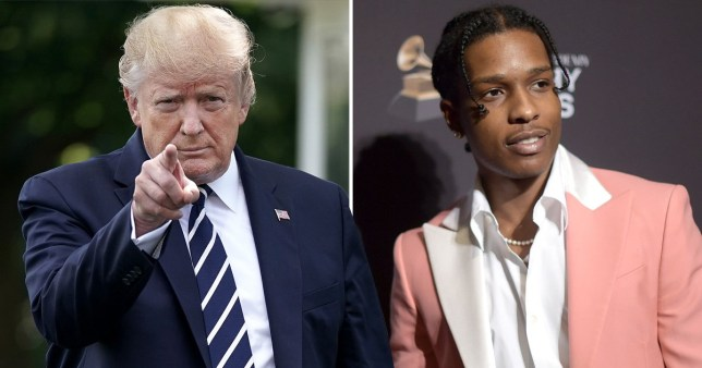 Donald Trump 'personally vouches' for A$AP Rocky's bail money