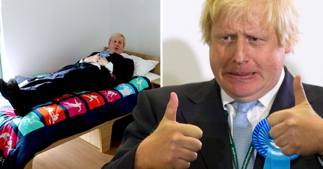 Boris Johnson 'orders taxpayer-funded bed' after saying he 'doesn't have any stuff'