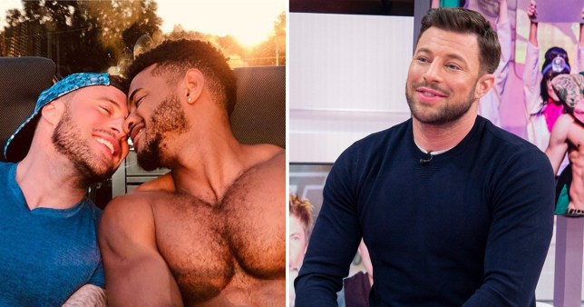 Duncan James and boyfriend Rodrigo Reis