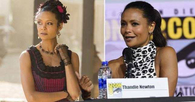 Maeve Westworld and Thandie Newton