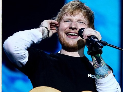Ed Sheeran upsets locals as he places hay bales 'to shield' controversial 'pond'
