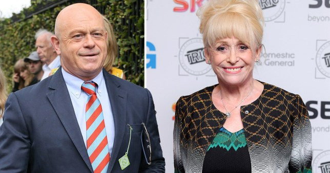 Ross Kemp and Barbara Windsor