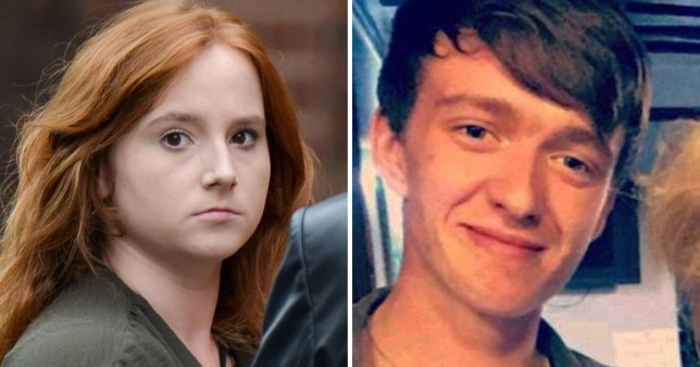 Hannah Bowman has been jailed for 27 months after admitting causing the death of her boyfriend Jordan Wilson