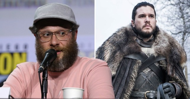 Seth Rogen slams Game of Thrones writers for failing to address backlash and has a pop at final season